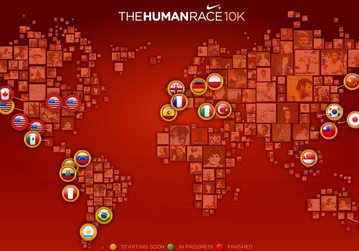 Human Race gestartet