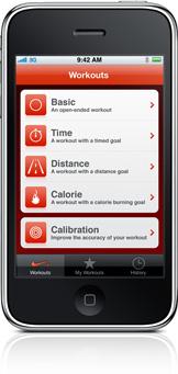 Nike+ im neuen iPhone 3G_S