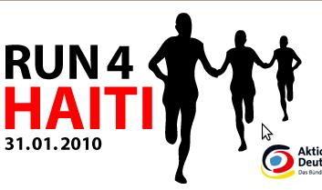 Der Januar 2010 und Run4Haiti