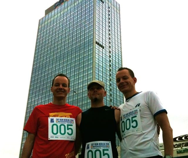 39 Stockwerke, 770 Stufen – Skyrun Berlin 2010