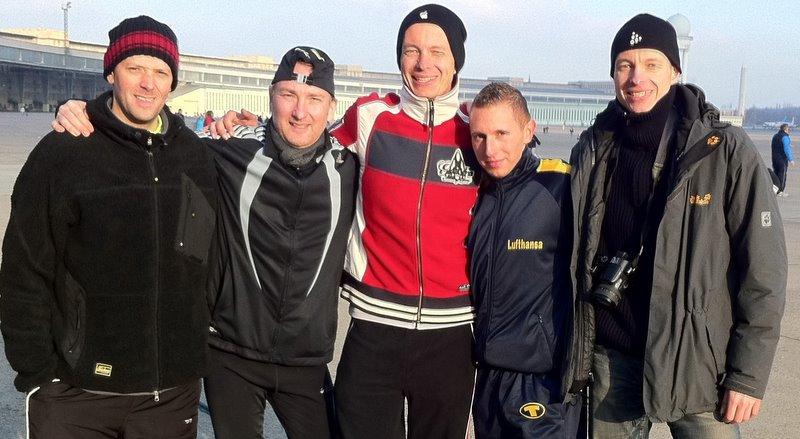 v.l.n.r. Danny, Milosz, Henrik, Phil, Marek