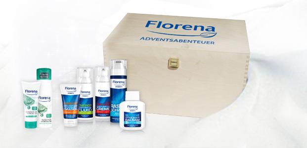 Findet die Florena Adventsabenteuerkisten!