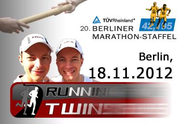 Save the date: 20. Berliner Marathonstaffel