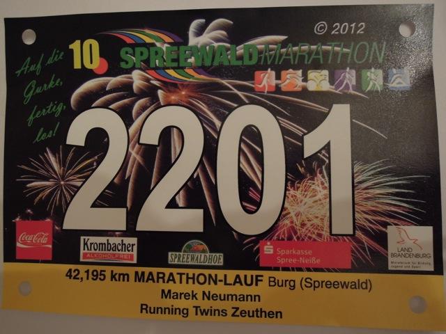Auf die Gurke, fertig, los – 10. Spreewaldmarathon