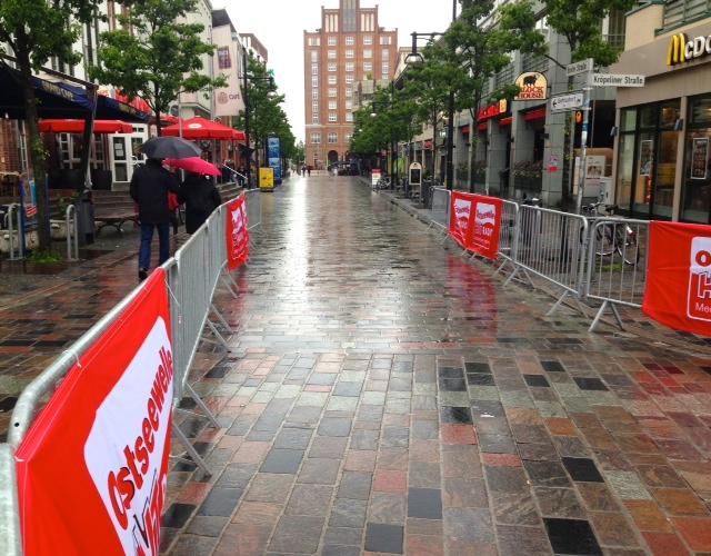 Rostock, Regen, Rekord