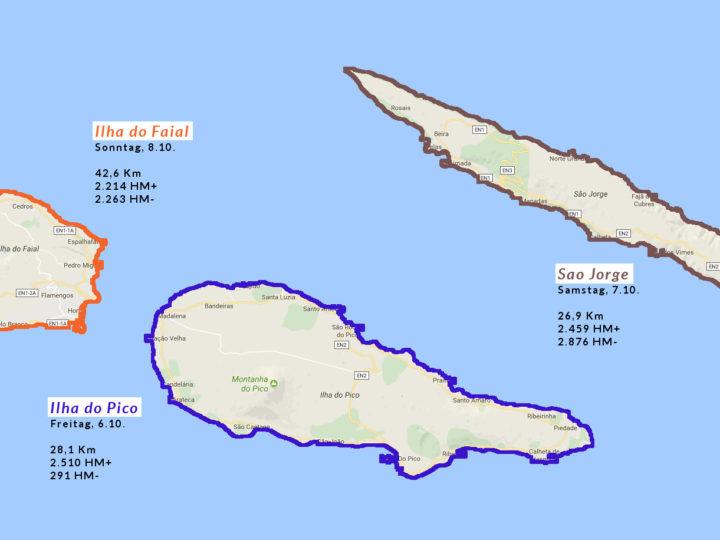 Transalpine-Run im Kleinformat auf den Azoren